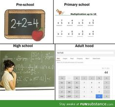 Math for adults