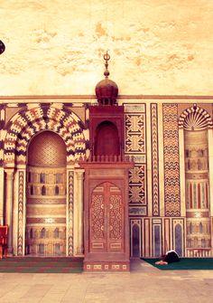 Castle in  egypt by eman farhan, via Behance