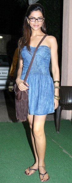 Deepika Padukone at the special screening of the film 'Break Ke Baad'