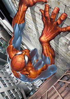 Spider-Man By Joe Quesada #Comics #Illustration #Drawing