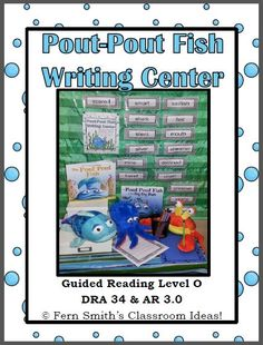 Pout-Pout Fish In the Big-Big Dark Writing Center for Common Core #TPT $Paid