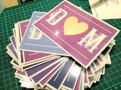 DIY Tutorial: Scratchcard Wedding Invitations