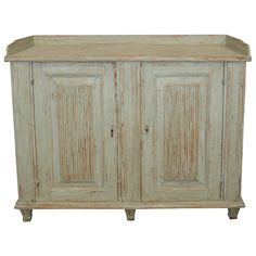 19th Century Swedish Gustavian Cupboard | From a unique collection of antique and modern cupboards at https://www.1stdibs.com/furniture/storage-case-pieces/cupboards/