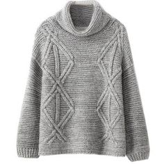 Chicnova Fashion High Collar Knitwear