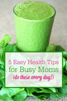 Busy moms, stay heal