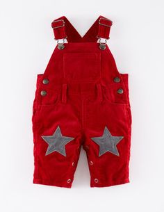 Star Patch Cord Dungarees