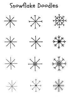 holiday drawings Snowflake Doodles Make Film Play Christmas Doodles, Christmas Drawing, Christmas Crafts, Doodle Drawings, Easy Drawings, Doodle Art, Bullet Journal Ideas Pages, Bullet Journal Inspiration, Snowflake Nails