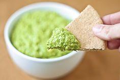 Spinach Artichoke Hummus #Seasonal #Spring #Recipes
