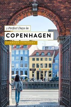 the best copenhagen itinerary whether you have 3 days in denmark or 2 weeks! cop… - Travel Tips Visit Denmark, Denmark Travel, Copenhagen Travel, Copenhagen Denmark, Stockholm Sweden, Travel Humor, Funny Travel, Denmark Winter, Places To Travel