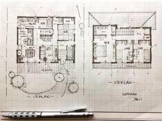 いいね!617件、コメント5件 ― 石川 元洋/一級建築士さん(@motohiro_ishikawa)のInstagramアカウント: 「・ 36坪4人家族の家 ・ キッチンに立つ奥様が全てを見渡せるように ・ #手描き#新築一戸建て#間取り#間取り図#間取りいろいろ#注文住宅#夢のマイホーム#新築住宅…」
