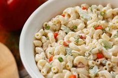 Un grand classique...Une salade de macaroni, l'accompagnement parfait