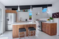 cocinas modernas pequeñas con isla