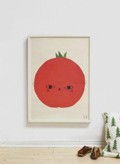 Tomato Poster | Talo Interiors | Design for kids | Est Magazine