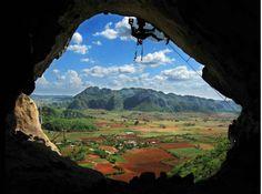 #Climbing in #Vinales Cuba