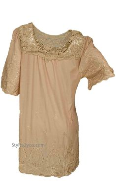 Raelen Tunic In Carmel#gorgeous #beyourself #inspiration #unique #boutique #vintage #lace #hi #womenclothing  #love #pretty #girl #selfie #fashion #beyourself #online