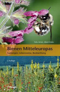 Amiet, Felix / Krebs, Albert «Bienen Mitteleuropas. Gattungen, Lebensweise, Beobachtung» | 978-3-258-07903-5 | www.haupt.ch