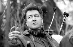 Director David Lynch on the set of Twin Peaks: Fire Walk With Me. Photo by Richard Beymer (a.k.a. Ben Horne).
