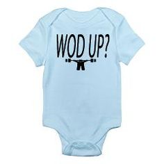 Crossfit kids T-shirt/ baby onesie/wod up?