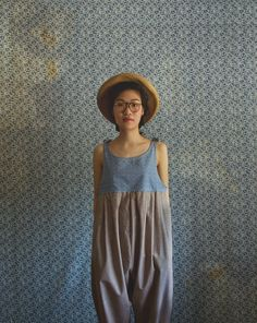 The Farmers Jumper in Chambray & Linen by xMOTHERx on Etsy, $110.00