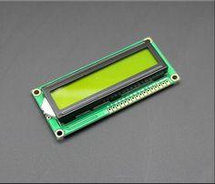 1 UNIDS LCD1602A 1602 Module.1602 pantalla verde módulo 16x2 Caracteres Display LCD 5 V pantalla verde y blanco código para arduino