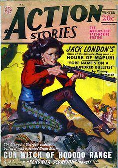 Senorita Scorpion in Gun-Witch of Hoodoo Range by Les Savage, Jr