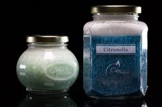 Vegan Wax Citronella Candles by Corscandles on Etsy