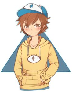 Gravity Falls - Dipper Pines with a Bill Cipher Shirt Dipper Pines, Dipper E Mabel, Dipper And Bill, Gravity Falls Dipper, Gravity Falls Fan Art, Gravity Falls Bill, Billdip, Bill Cipher Human, Chibi