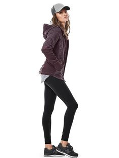 Fall Style 2016: Rock Springs Fall Jacket, Metro High Waisted Legging, WL574 New Balance Fall Sneakers