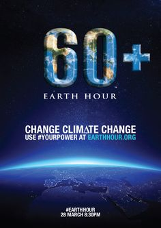 Earth Hour is a global campaign with a simple message to switch off non-essential lights for one hour on the last Saturday of  28 March 2015 between 8:30 & 9:30 pm.