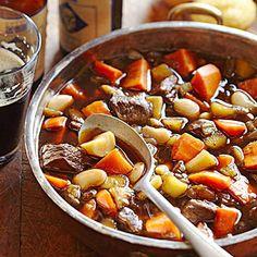 Spicy Beef, Bean & Vegetable Stew