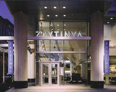 Zaytinya--A restaurant from world-famous (and DC-based) Jose Andres.