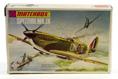 Matchbox Spitfire model kit box   Flickr - Photo Sharing!