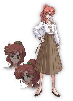 Makoto Kino. Sailor Moon Crystal