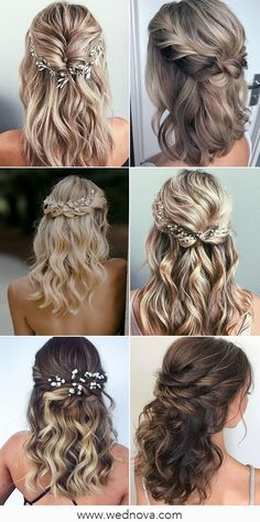 13 Super Charming Wedding Hairstyles for 2020 #wedding #weddinghairstyle #bridalhairstyle #bridalhair Spring Wedding Decorations, Summer Wedding Colors, Great Memories, Pantone Color, Bridal Hair, Real Weddings, Wedding Hairstyles, Most Beautiful, Marriage