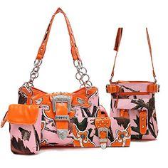 Pink Camouflage Leaves Orange Trim Western Buckle Purse S... https://www.amazon.com/dp/B075DL8B2S/ref=cm_sw_r_pi_dp_x_5NAhAbB6VPET4