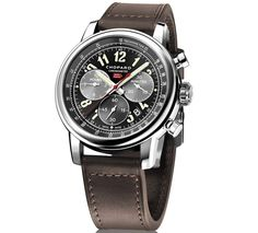 The Chopard Mille Miglia 2016 XL Race Edition has a lot going for it. Classic looks inspired by vintage racing cars, legible dial, in-house movement. Panerai Watches, Gents Watches, Breitling, Cool Watches, Watches For Men, Popular Watches, Herren Chronograph, Custom Design Shoes, Audemars Piguet