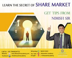 This is to aware people that share market is no gambling, it's a kind of business to earn the profit.    Dhanashri Academy  Nimish Sir  Call Us On +91 7045654722 www.dhanashriacademy.com #sharemarket #stockmarket #success