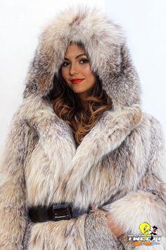 Victoria Justice in lynx fur coat by Tweety63