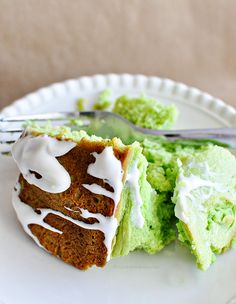 The 9 Best Cakes In Bundt Pan History -  Pistachio Bundt Cake With Cream Cheese Glaze