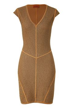 STYLEBOP.com | Caramel/SepiaLurexDressbyMISSONI | the latest trends from the capitals of the world