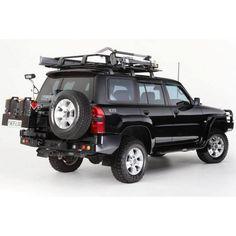 Wheel Carrier Combo Pack - Nissan Patrol GU (2004+)