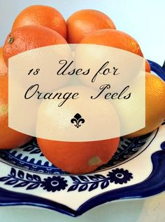 18 Uses for Orange Peels