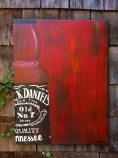 Randos on Pinterest | Jack Daniels, Graduation Gifts and Jack ... Jack Daniels Bottle, Mail Gifts, Food Painting, Diy Barn Door, Painted Wood Signs, Presents For Dad, Christmas 2019, Christmas Gifts, Holiday