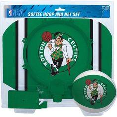 Rawlings NBA Slam Dunk Softee Hoop Set Boston Celtics, Multicolor
