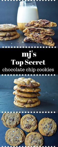 All of the secrets to make perfect chocolate chip cookies every single time. MJ's top secret chocolate chip cookie recipe is finally being released and it's the ultimate cookie.