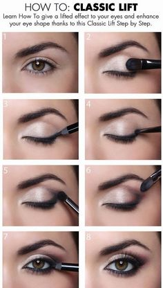 How To Give a Classic Lift To Your Eyes - more about make up and nail art : https://www.crazymakeupideas.com