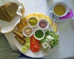 Vegan breakfest Cafe Mlynek Krakow