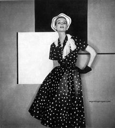 Henri Bendel 1955 - Photo George Platt Lynes