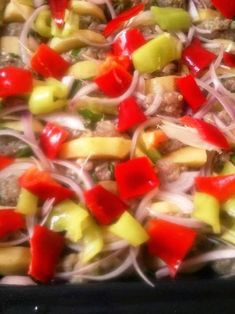 H μάνα του ... λόχου: Κεμπάπ με πατάτες Fruit Salad, Salsa, Food And Drink, Mexican, Ethnic Recipes, Fruit Salads, Salsa Music, Mexicans