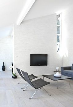 modern interiors, minimalism, white living rooms